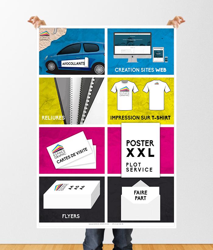 Imprimerie Espace Graphic Lausanne