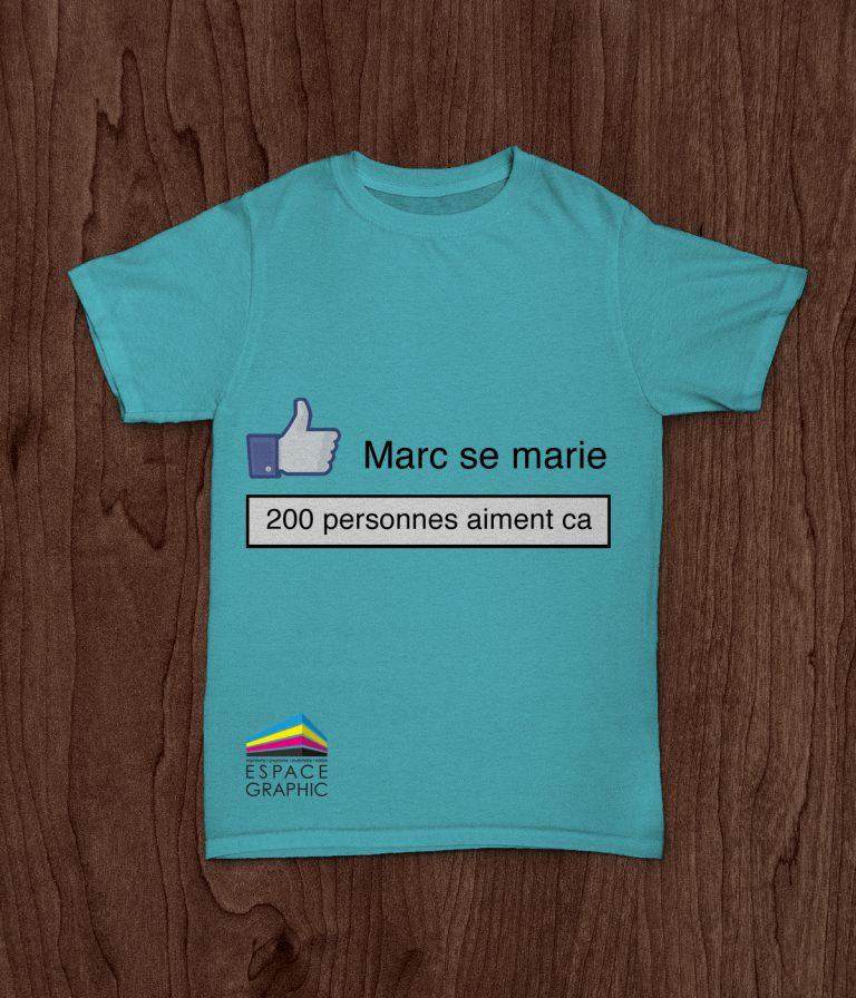 T-shirt manifestation Lausanne