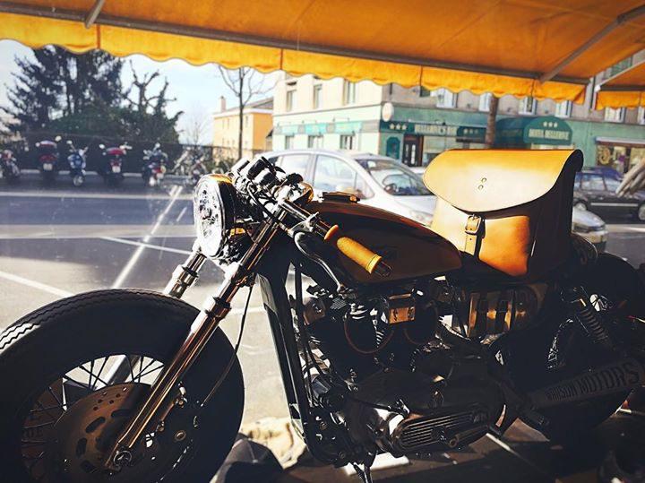 Moto customisée Lausanne