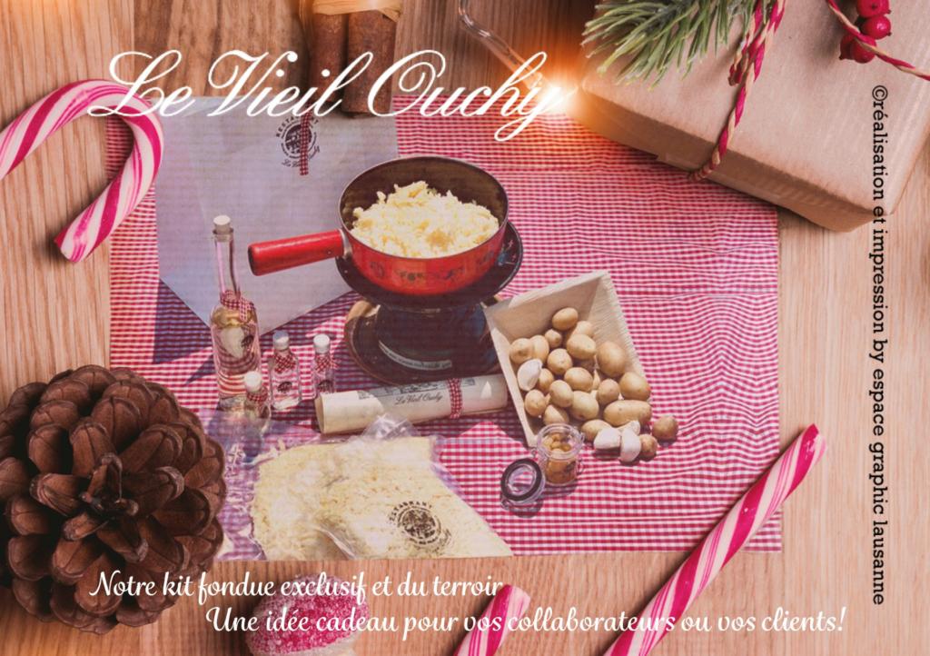 Ouchy kit fondue à l'emporter à Lausanne